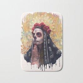 """Katrina"" - Skull girl Bath Mat"