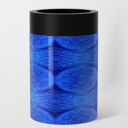 Heavenly Twinkling Blues Can Cooler
