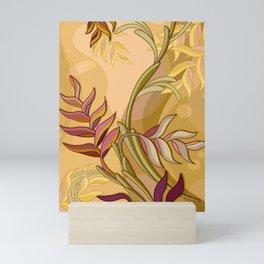 Flowing Florals Mini Art Print