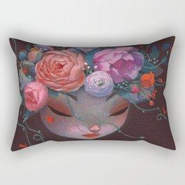 Crown of Peonies Rectangular Pillow