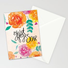Don't Just Fly SOAR Stationery Cards