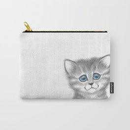 SKETCHBOOK - Tiny kitten (blue eyes) Carry-All Pouch