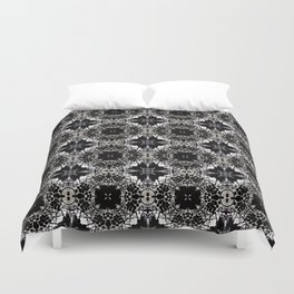 Dispatching Leaves Duvet Cover