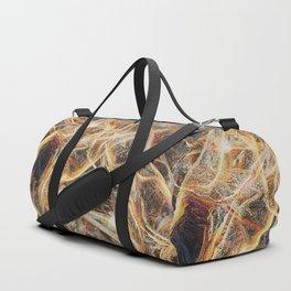 Golden copper marble Duffle Bag