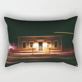 stayin' up late Rectangular Pillow