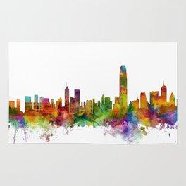 Hong Kong Skyline Rug