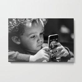 Ethan - Selfie Metal Print