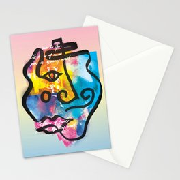 Into his Eyes Stationery Cards