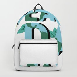 Earth Day Natural Elements Backpack