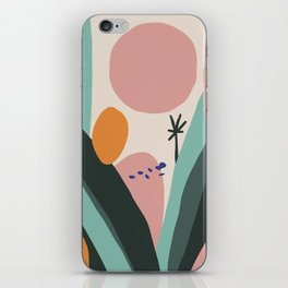 The island iPhone Skin