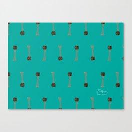Reloj Rectorado UCV Canvas Print