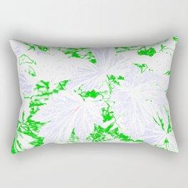 GERANIUM LEAVES WHITE Rectangular Pillow