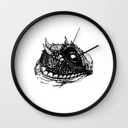 Lizzy (White) Wall Clock