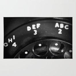Phone Focus Rug