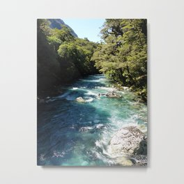 Lake Marian, New Zealand Metal Print