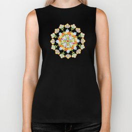 Beaux Arts Flower Crown Biker Tank