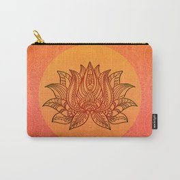 Lotus Flower of Life Meditation  Art Carry-All Pouch