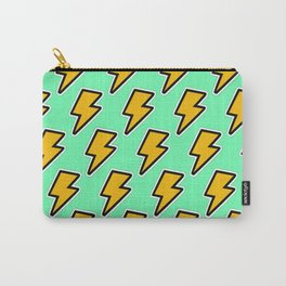 Lightning Strikes Print Carry-All Pouch