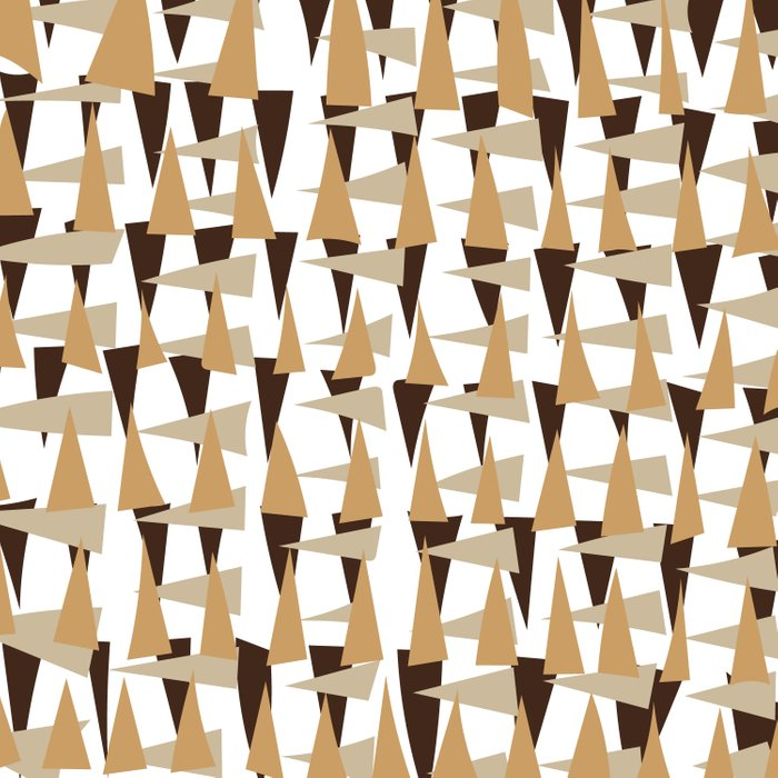 brown spearheads Duvet Cover