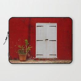 Door at the Fort Laptop Sleeve