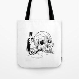 Skull Abuse  Tote Bag