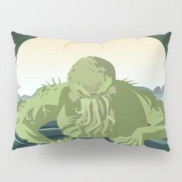 evil sea cthulthu monster Pillow Sham