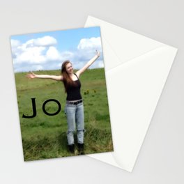 Joy! | Quote | Nadia Bonello Stationery Cards