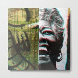Soar, inspire; natural gestures ignite truth. Metal Print