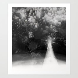 winter fantasy Art Print