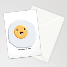 Cute egg Stationery Cards