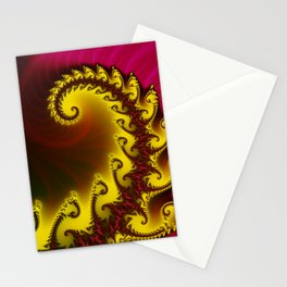 spiralz -4- Stationery Cards