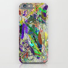 JACKSON POLLOCKHEED SR 71 iPhone 6 Slim Case