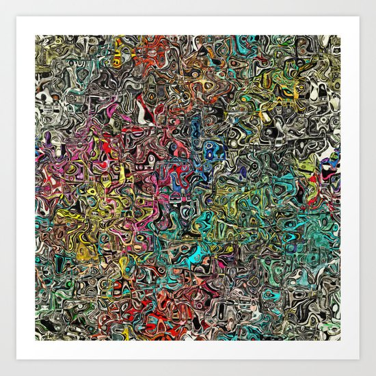 Abstract SQ Art Print