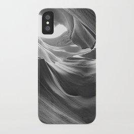 ANTELOPE CANYON III (B+W) iPhone Case