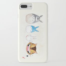 Make the Unlikeliest of Friends, Wherever You Go iPhone Case