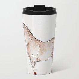 GRONINGEN HORSE - Beige Travel Mug