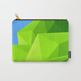 Green Mountain triangle Carry-All Pouch
