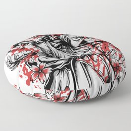 Way Of The Samurai for people who like  fantasy legends and mythical creatures  Floor Pillow