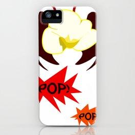 Evil Popcorn iPhone Case