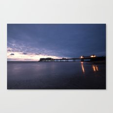 Before the Sun Canvas Print