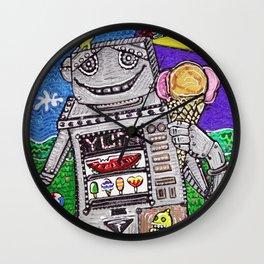 Summer Yum Wall Clock