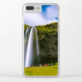 Summer at Seljalandsfoss - Iceland Clear iPhone Case