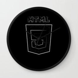 HTML 5 Wall Clock
