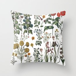 plants collection Throw Pillow