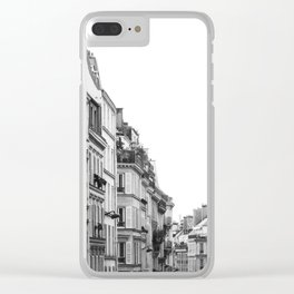 Street in Paris Clear iPhone Case