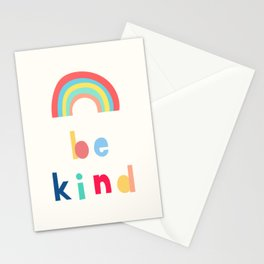 Be Kind Rainbow Stationery Cards