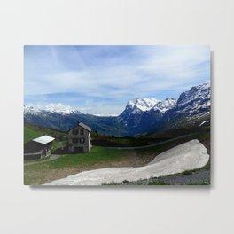 Switzerland: Jungfrau  Metal Print