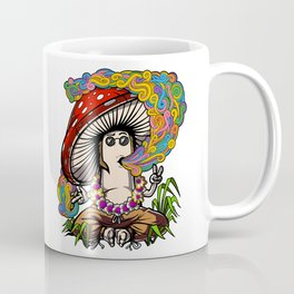 Psychedelic Magic Mushroom Hippie Psilocybin Shrooms Coffee Mug