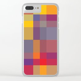 Pixel 02 Clear iPhone Case