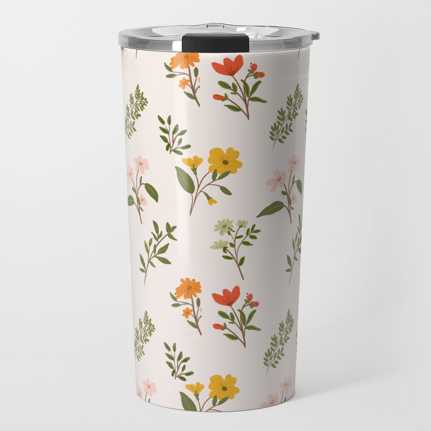 Botanical Dreams Travel Mug By Aljahorvat Society6